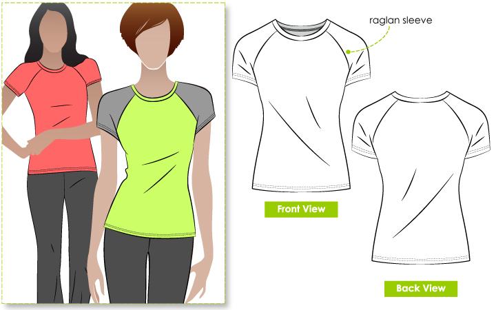 StyleArc Riva Raglan T-Shirt Riva Raglan T-Shirt