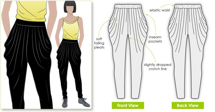 StyleArc Shaza Jersey Pant Shaza Jersey Pant
