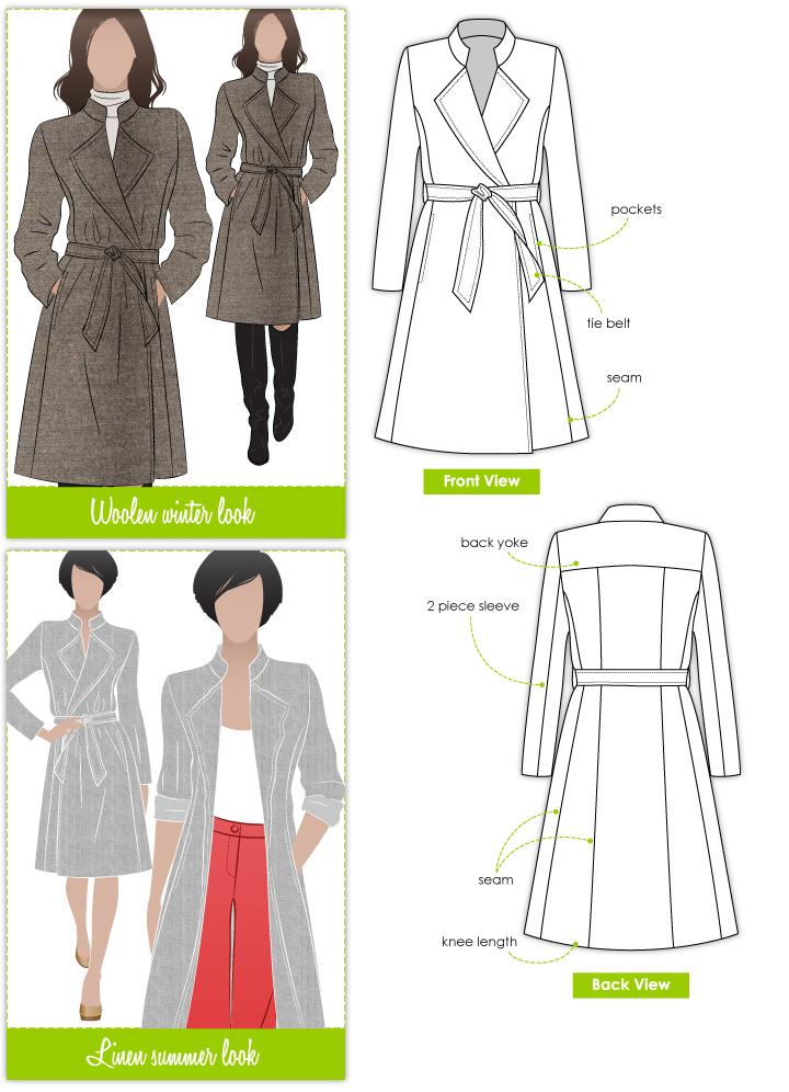 StyleArc Stella Coat Stella Coat