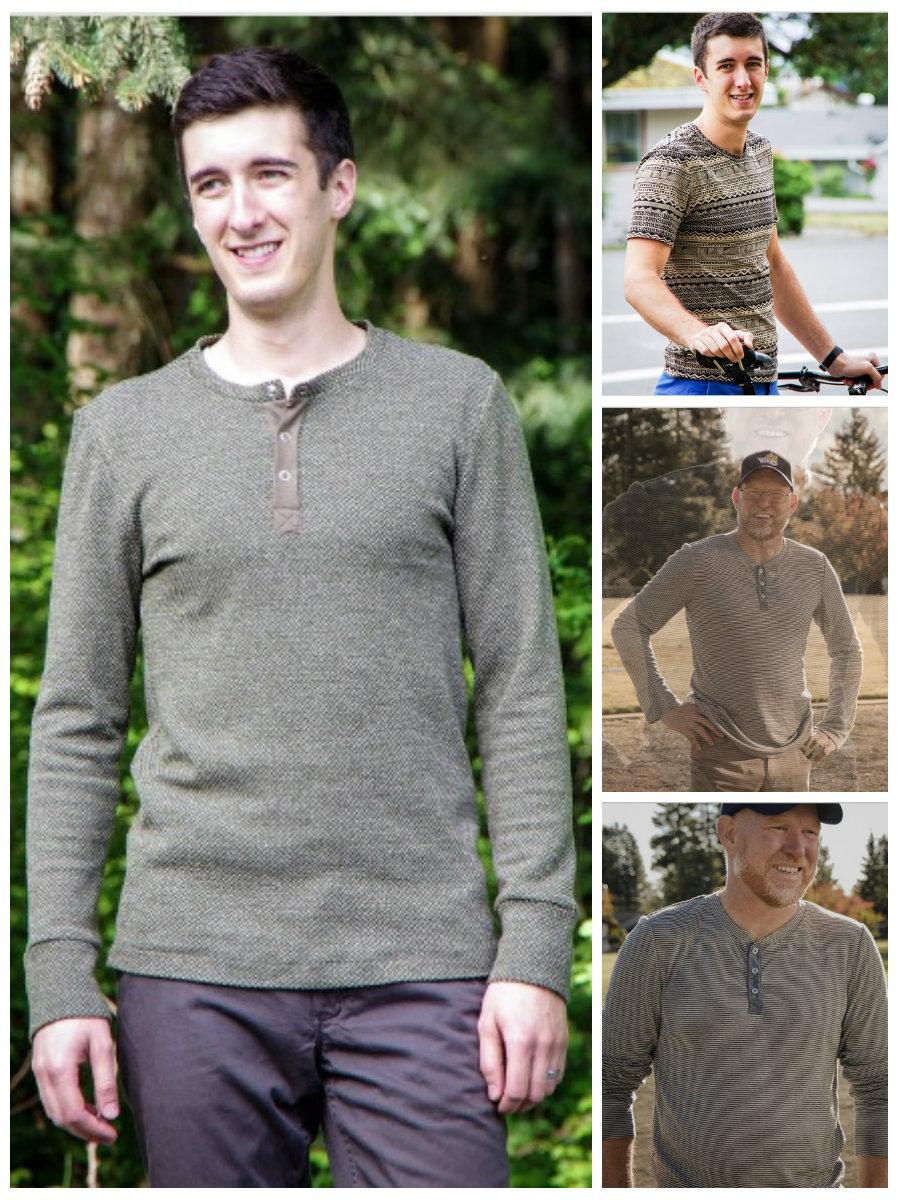 Thread Theory Designs Strathcona Henley & T-Shirt Strathcona Henley & Tee