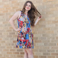 True Bias Colfax Dress Digital Pattern