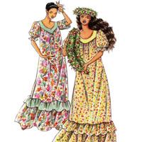 Victoria Jones Collection Misses' Traditional Muumuu