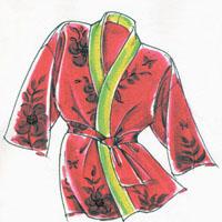 Victoria Jones Collection Happi Coat & Hanten (230)