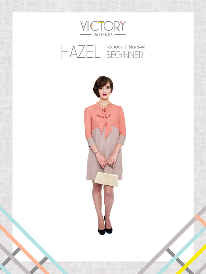 Victory Patterns Hazel Dress 1004