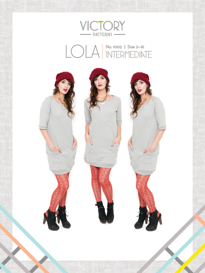 Victory Patterns Lola Dress 1005
