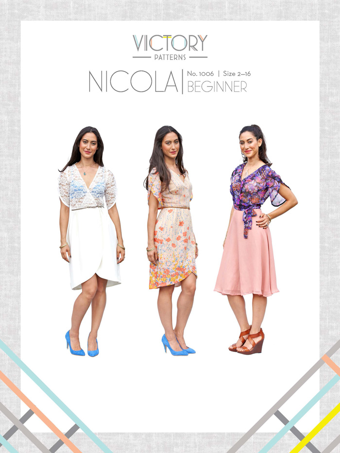 Victory Patterns Nicola Skirt, Blouse and Dress 1006