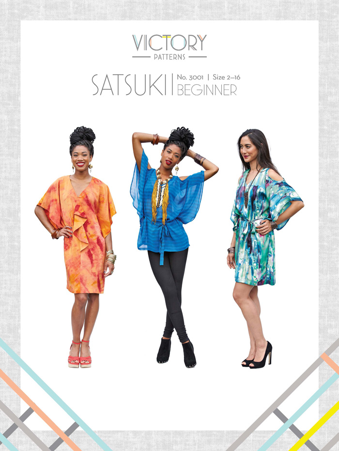 Victory Patterns Satsuki Dress and Blouse 1008