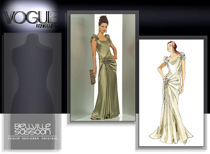 Vogue Patterns MISSES' DRESS 1015