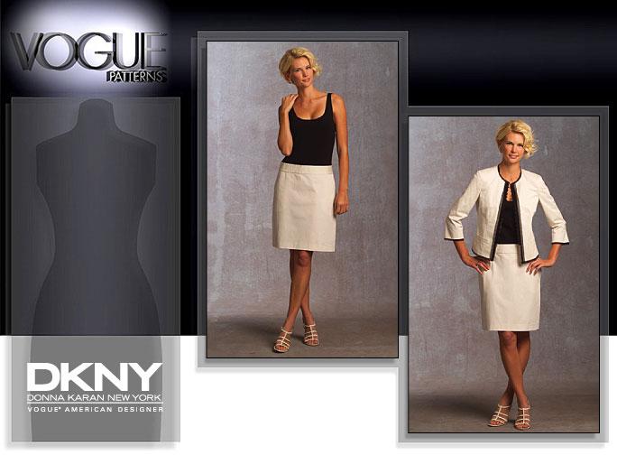 Vogue Patterns MISSES' JACKET AND DRESS 1028