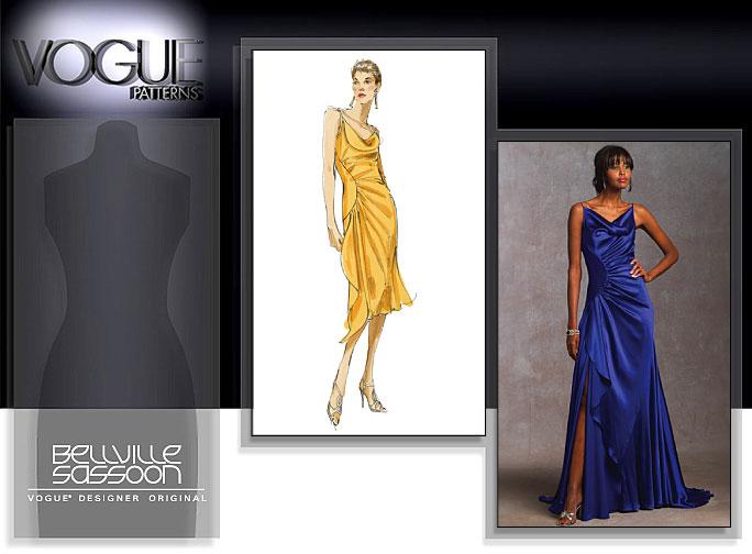 Vogue Patterns MISSES' DRESS 1031