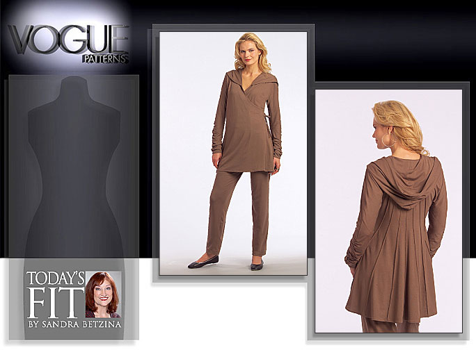 Vogue Patterns MISSES' TUNIC AND PANTS 1061