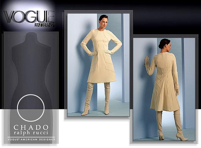 Vogue Patterns MISSES' DRESS 1073