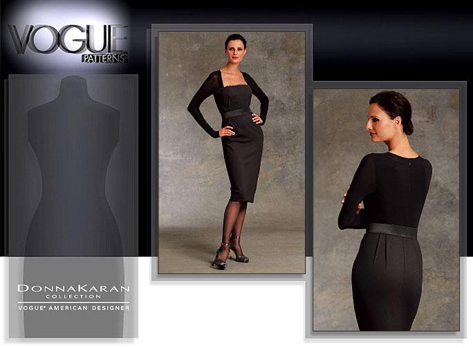 Vogue Patterns MISSES' DRESS 1077