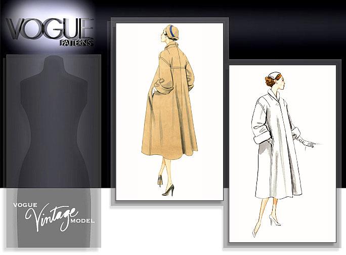 Vogue Patterns MISSES' COAT 1083