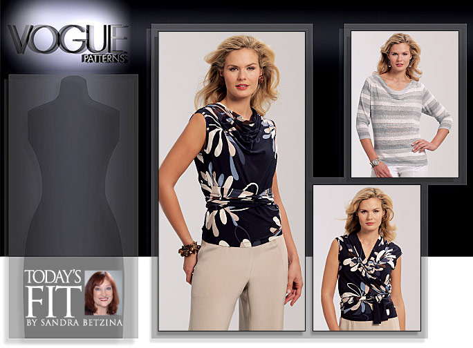 Vogue Patterns MISSES' TOP 1085