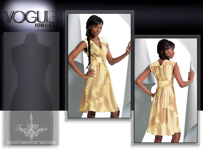 Vogue Patterns MISSES' DRESS 1086