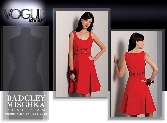 Vogue Patterns MISSES' DRESS 1089