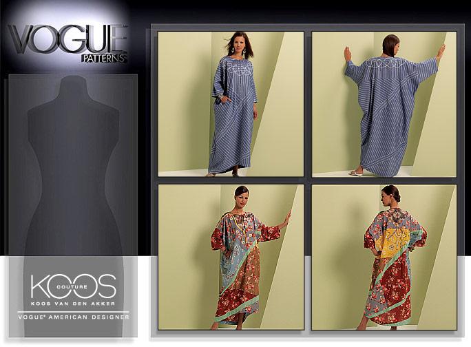 Vogue Patterns MISSES' CAFTAN 1106
