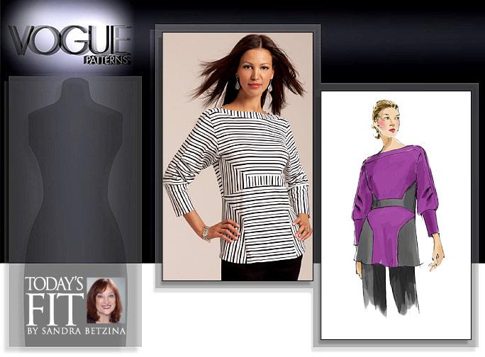 Vogue Patterns MISSES' TOP 1109