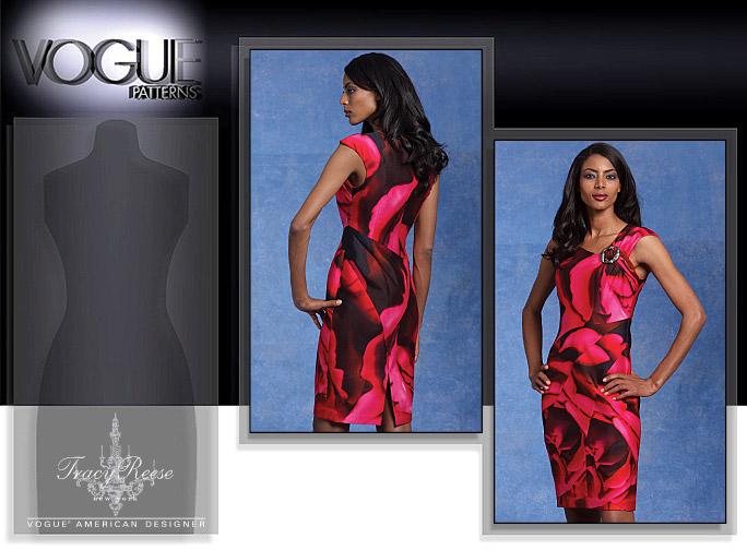Vogue Patterns MISSES' DRESS 1118