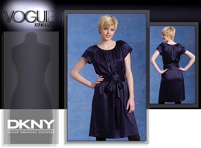 Vogue Patterns MISSES' DRESS 1120