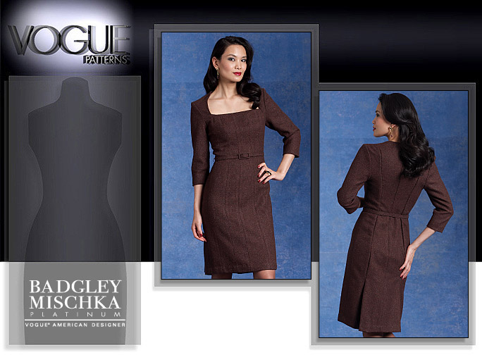 Vogue Patterns MISSES' DRESS AND BELT 1121
