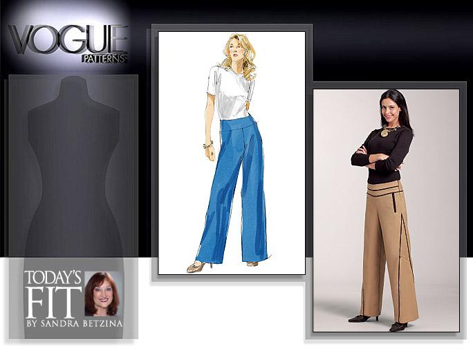 Vogue Patterns MISSES' PANTS 1125