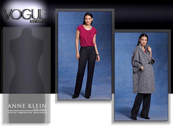 Vogue Patterns MISSES' COAT, TOP AND PANTS 1128