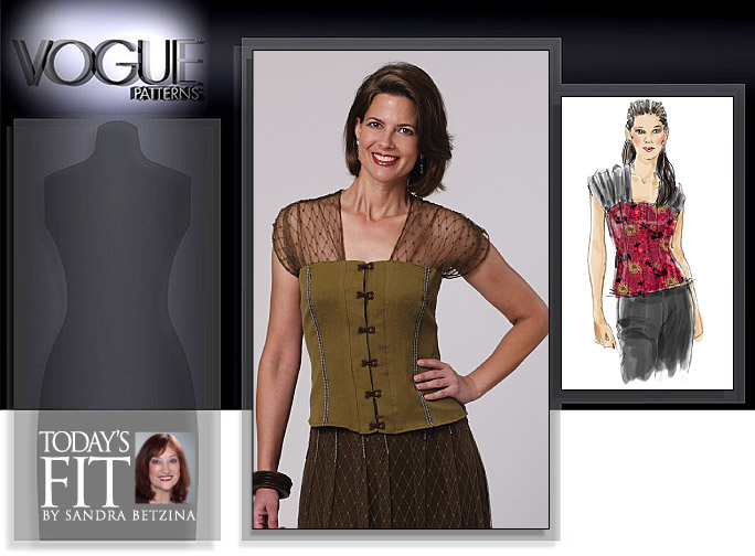 Vogue Patterns Top 1140