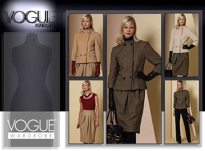 Vogue Patterns CAREER/SUITS 1141