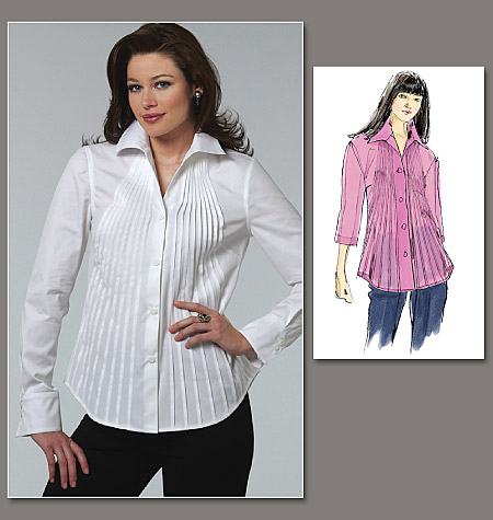 Vogue Patterns Misses' Shirt 1165