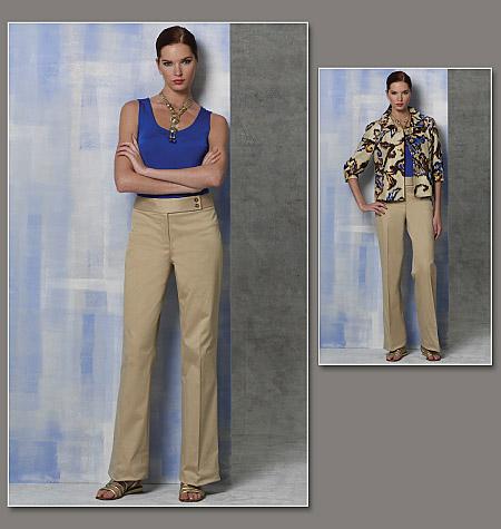 Vogue Patterns Misses' Jacket, Top And Pants 1167