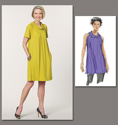 Vogue Patterns Misses' Dress and Tunic 1173