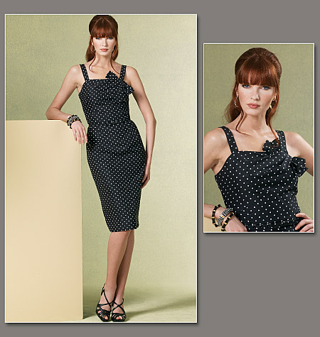 Vogue Patterns Misses' Dress and Belt 1176