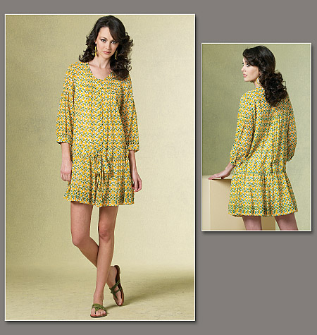 Vogue Patterns Misses/Misses' Petite Dress and Slip 1177