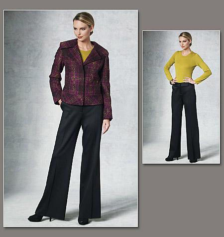 Vogue Patterns Misses' Jacket And Pants 1200