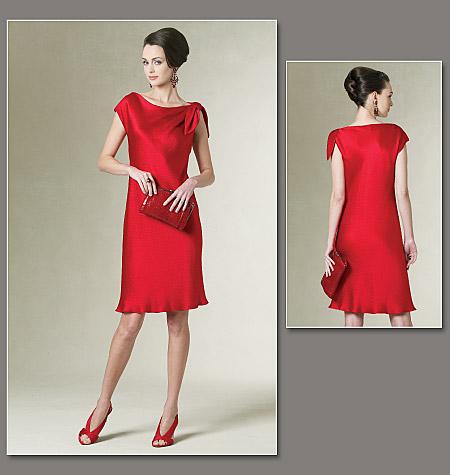 Vogue Patterns Misses' /Misses' Petite Dress 1208