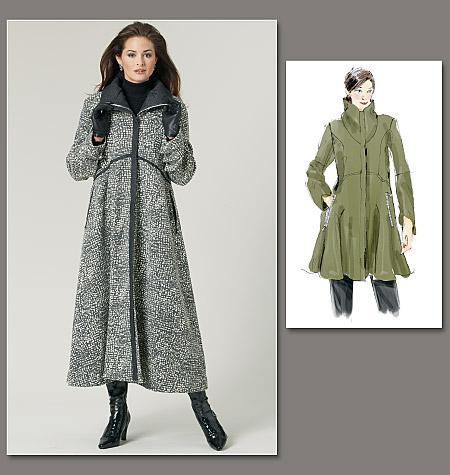 Vogue Patterns Misses' Coat 1212