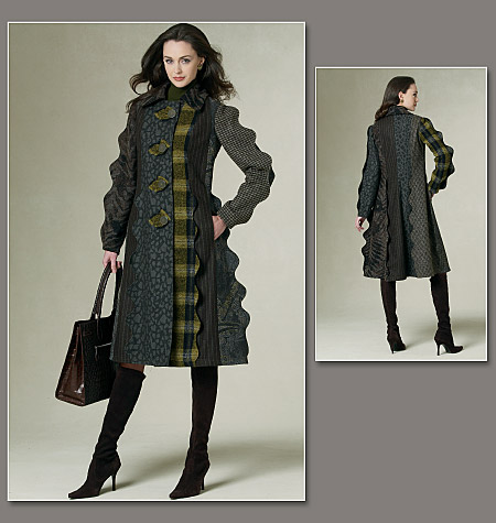 Vogue Patterns Misses' Coat 1213
