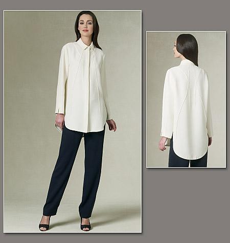 Vogue Patterns Misses' Shirt And Pants 1215