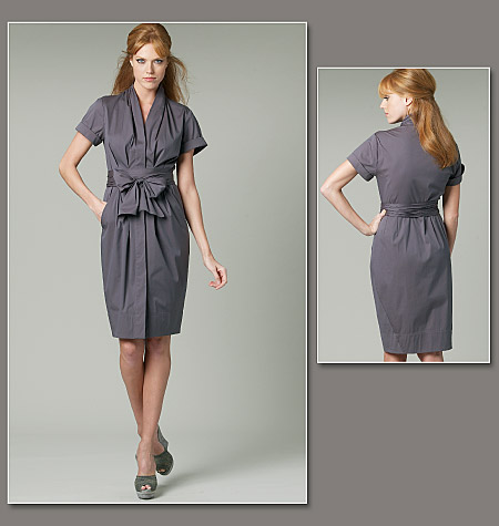 Vogue Patterns misses dress and belt 1220