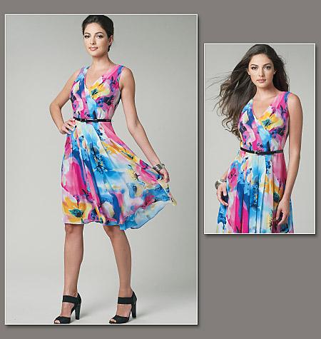 Vogue Patterns misses dress 1223