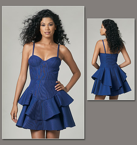 Vogue Patterns misses dress 1227