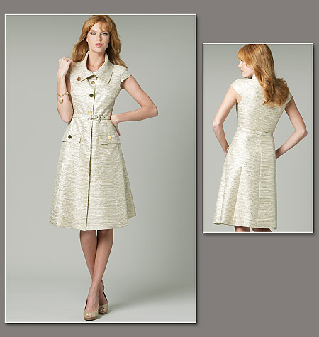 Vogue Patterns misses dress and belt 1233