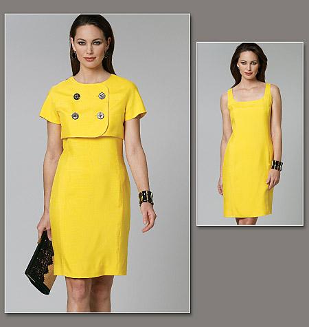 Vogue Patterns Misses' Jacket and Dress 1237