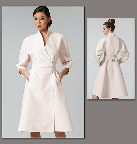 Vogue Patterns Misses' Dress and Belt 1239