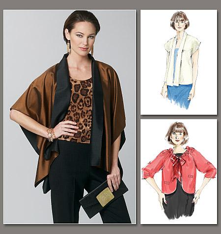 Vogue Patterns Misses' Jacket 1243