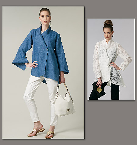 Vogue Patterns Misses' Shirt Mizono 1246