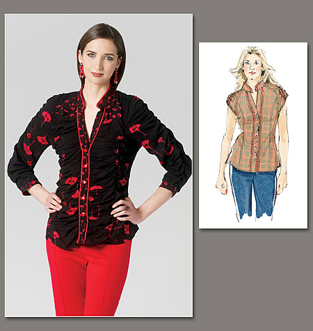 Vogue Patterns Misses' Blouse 1260