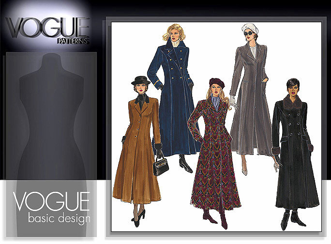 Vogue Patterns Misses' Coat 1266